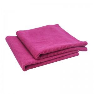 microfiber edgeless warp knitted car detailing towel
