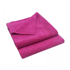 Edgeless microfiber warp knitted towel bright new color available