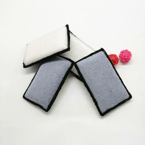 scrub sponge for car interior cleaning microfiber sponge pad