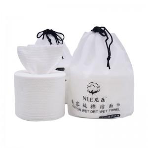 Pure cotton facial disposable cleansing towel