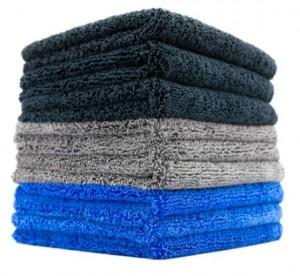 microfiber dual pile car detailing towel