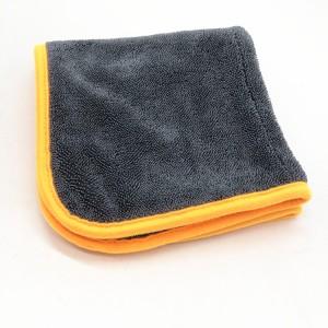 Microfiber twisted drying towel