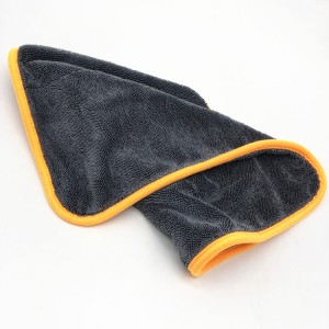 Washing Cloths Microfiber Car Drying Towel Twisted Loop Piles Twisted Towel