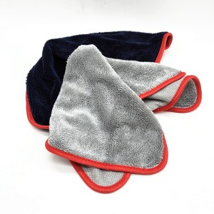 New Colors Arrived Single Twisted Towel Microfiber Car Drying Cloth