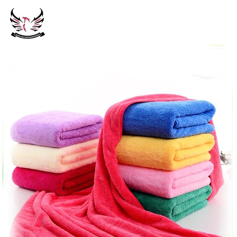 Wholesale Price Microfiber Edgeless Coral Fleece Towel - Coral Fleece Towel – Jiexu