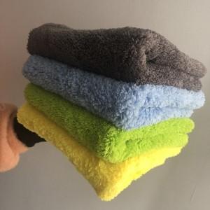 microfiber edgeless coral fleece towel, microfiber madness towel