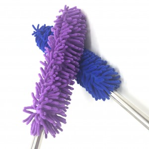 Car Cleaning Brush Microfiber Long Piles Professional Chenille Wheel Brush