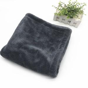 Microfiber Double Layers Twist Drying Towel