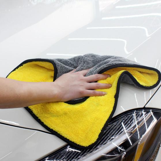 600GSM Super Plush Coral Fleece Weave Microfiber Towel Featured Image
