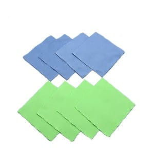 microfiber glass cleaning towels