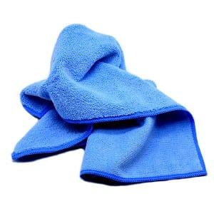 Seamed Edge Premium Microfiber Towel