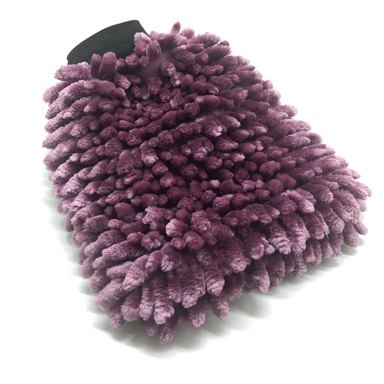 Chenille wash mitt 32-1