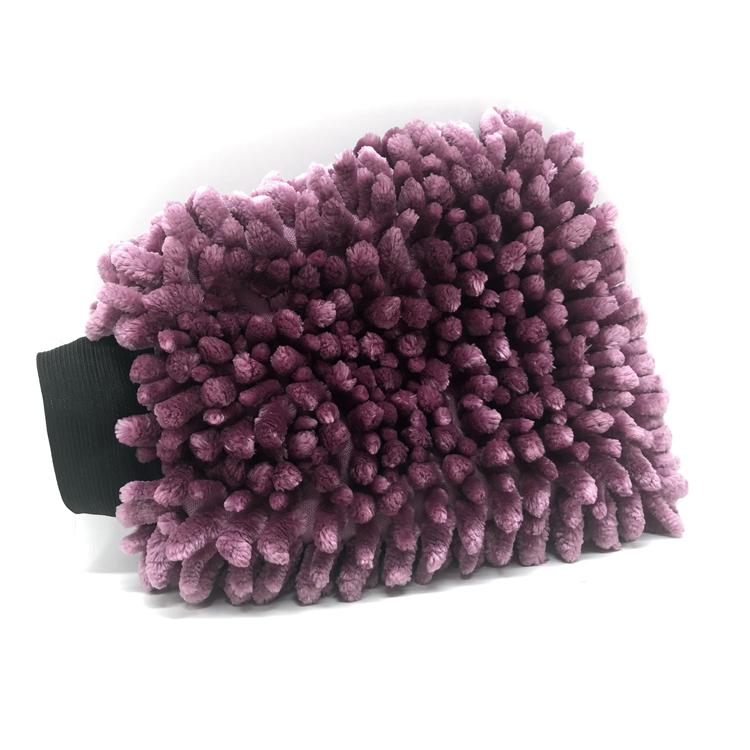 Chenille wash mitt 34-1