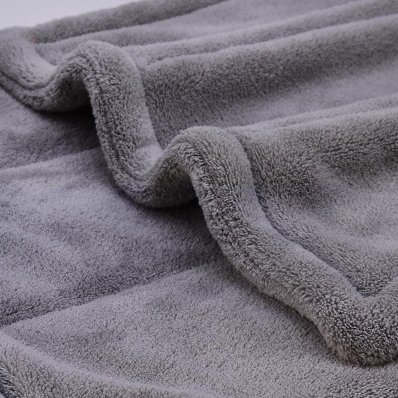 Coral fleece towel 1