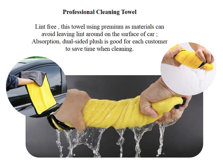 Coral fleece towel 11-1