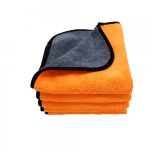 Car Buffing Microfiber Towel Car Body Washing Coral Fleece Plush Piles Cloth