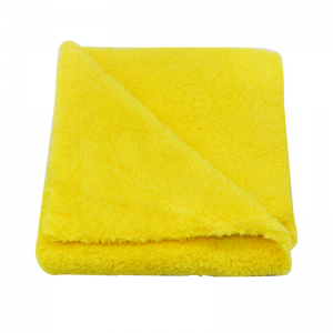Edgeless Coral Fleece Cloth Car Detailing and Polishing Towel-B