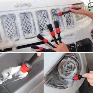 Boar Bristles Car Detailing Exterior Brush Set-D