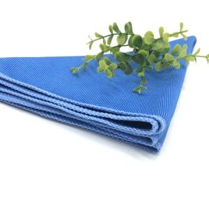 16*16 300gsm Microfiber Glass Cloths Car Window Cleaning Towel