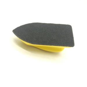 Car Seat Keeper Pad Yellow Color Car Interior Nano Cleaning Brush