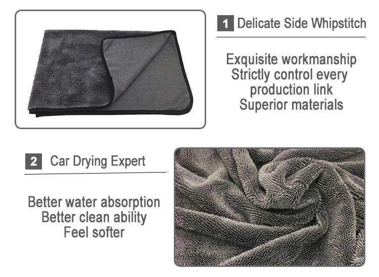 Single twist drying towel 1