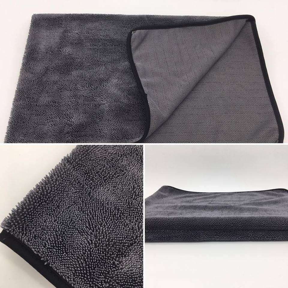 Single twisted drying towel 3