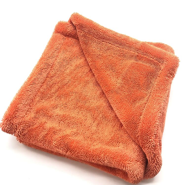 Twisted towel orange 3-1