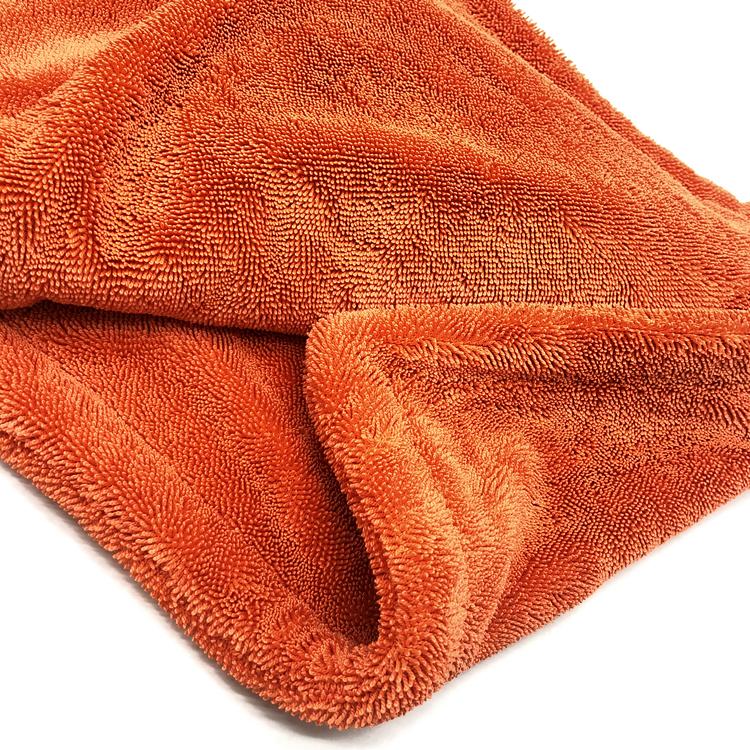 Twisted towel orange 5-1