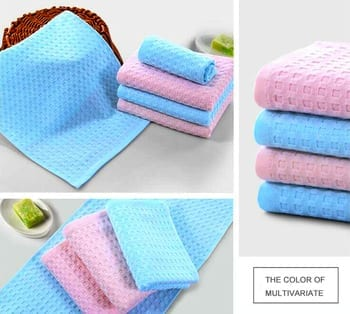 Microfiber Waffle Towel Featured Image