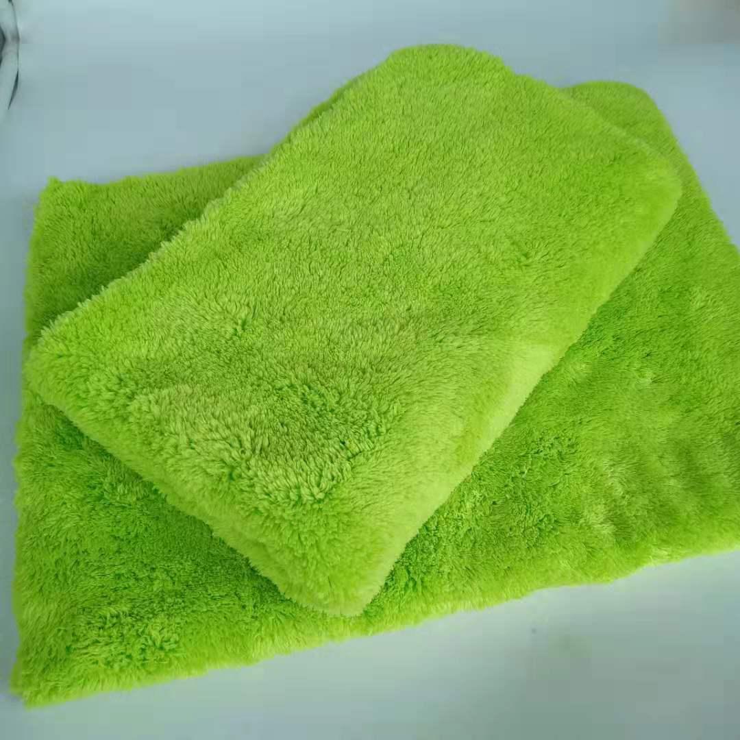 670gsm Edgeless Plush Microfiber coral fleece towel Featured Image