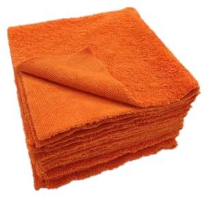 edgeless microfiber long/short pile towel