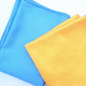 Fish Scale Microfiber Polishing Cleaning Cloth Wave Pattern Fish Scale Cloth Rag-c