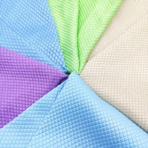 270GSM High Quality Microfiber Glass Cloth for glass care