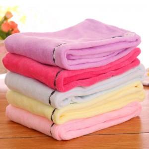 25*65cm microfiber hair care towel for women drying