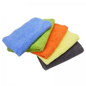 Polishing Clean Long/Short Plush Dual Pile Waxing Towel-D
