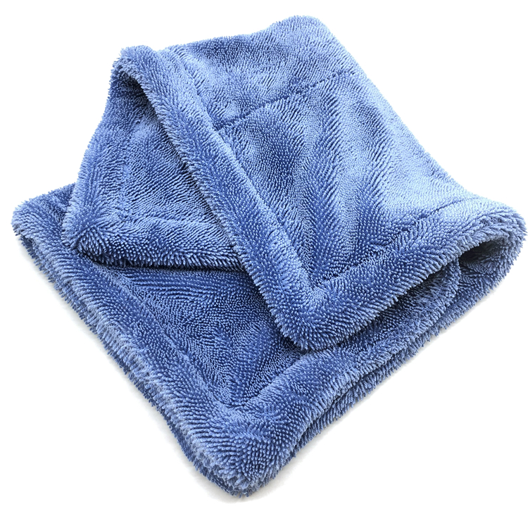 twisted drying towel