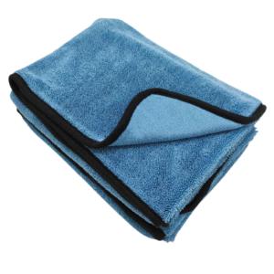 single layer microfiber twisted loop drying towel