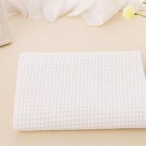 Waffle weave car detailing microfiber cleaning towel -C